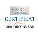Certificat ICPF  Consulter le certificat